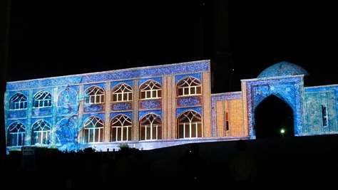 Khoramshahr Mosque Holly defense museum 3D mapping