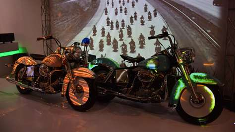 Harley Davidson Projection Mapping