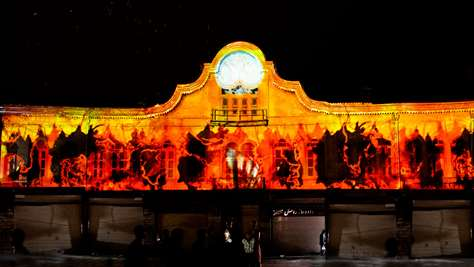 Imam Square - HAMEDAN Projection Mapping