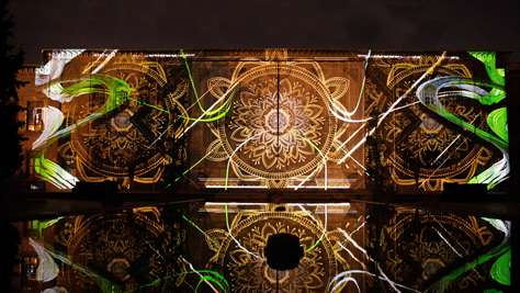 Golestan Palace Projection Mapping