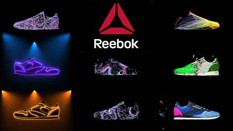 Reebok Sneaker Projection Mapping