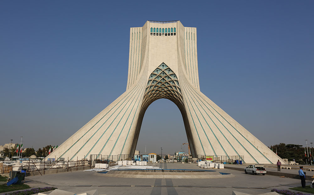 Azadi Tower - 3D Projection Mapping