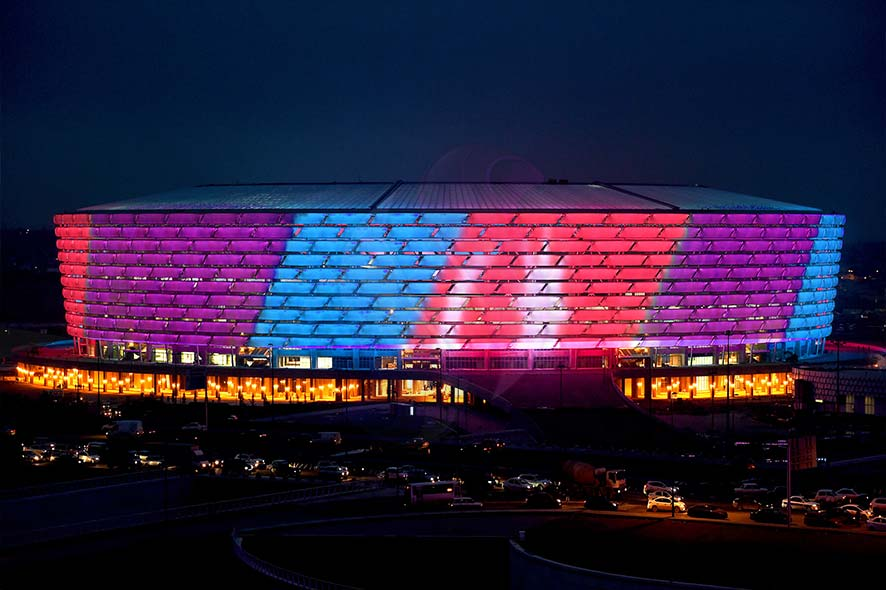 3D Arenas & Stadiums Projection Mapping
