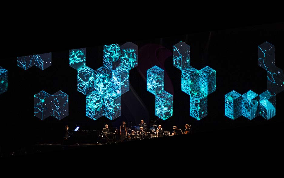 3D Stage Projection Mapping
